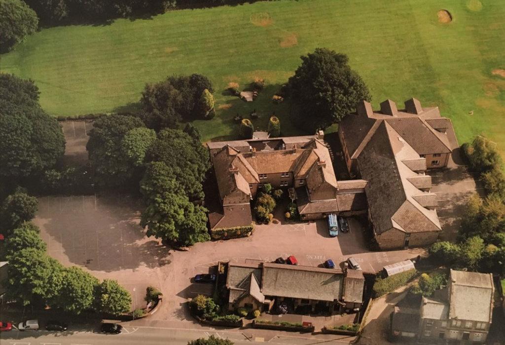 aerial view casa del golf hotel