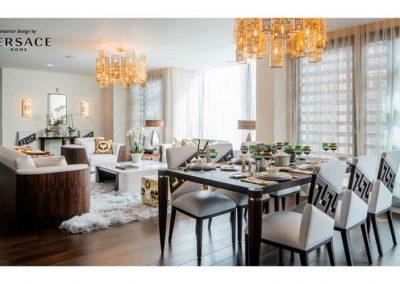 Appartamenti Londra dining
